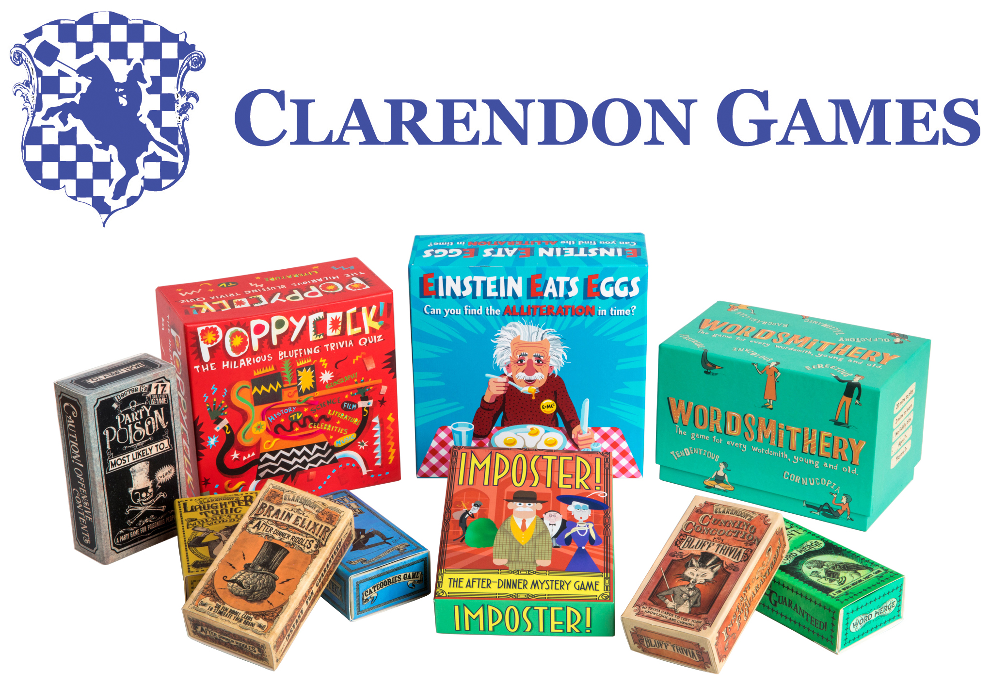 Clarendon full set games & logo HIGH RES